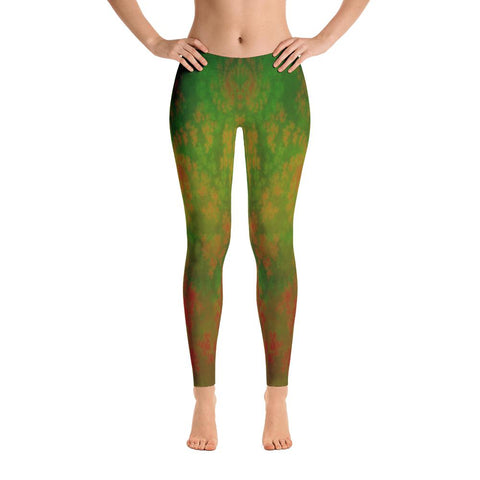 Enchanted Forest Yoga Pants-Flower of Living