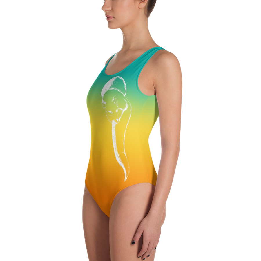 Agave Sunset Fox Leotard - Flower of Living