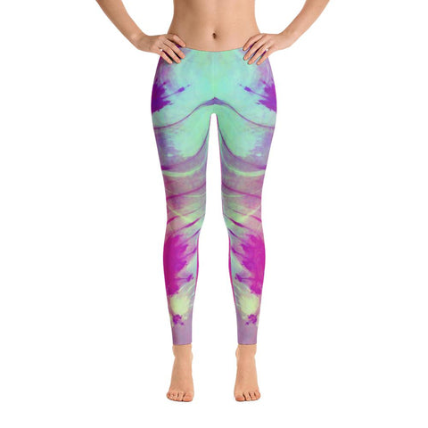 Quantum Leap Yoga Pants-Flower of Living