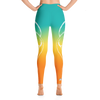 Agave Sunset Fox High Waist Yoga Pants - Flower of Living