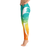 Agave Sunset Fox Yoga Pants - Flower of Living