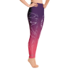 Serene High Desert Wolf High Waist Yoga Pants - Flower of Living