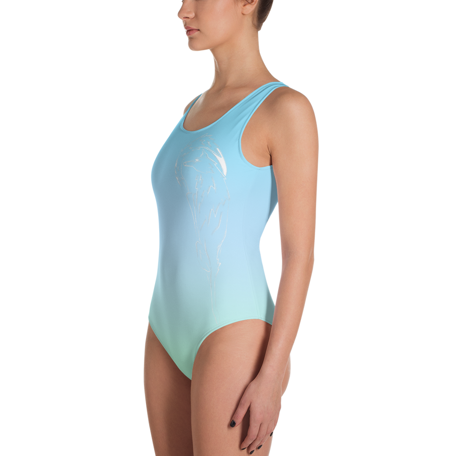 Springtime Breeze Wolf Leotard - Flower of Living