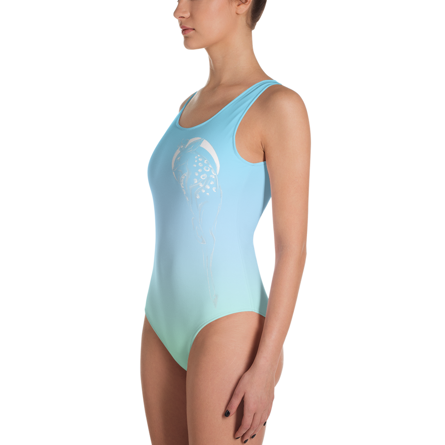 Springtime Breeze Deer Leotard - Flower of Living