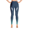 Wintry Dusk Wolf High Waist Yoga Pants