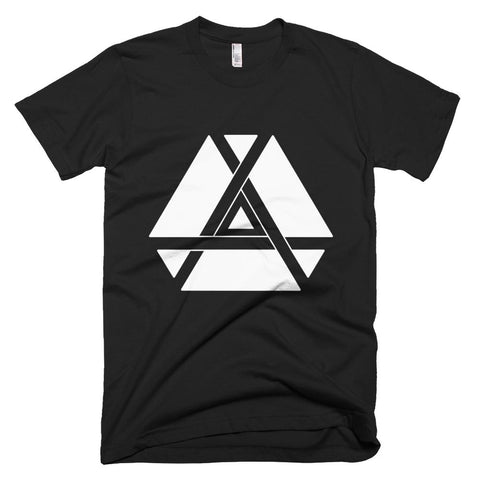 Minimalist Inner Triangle T-Shirt-Flower of Living