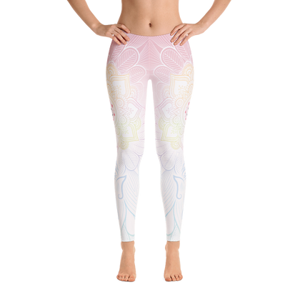 Dawn Grishma Mandala Yoga Pants-Flower of Living