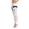 White Owl High Waist Yoga Pants - Flower of Living