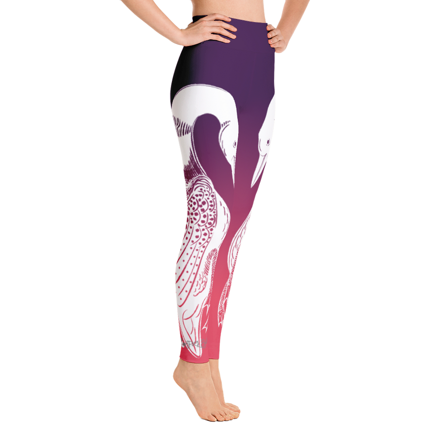 Serene High Desert Loon High Waist Yoga Pants - Flower of Living