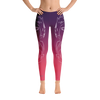 Serene High Desert Wolf Yoga Pants - Flower of Living