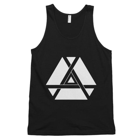 Minimalist Inner Triangle Tank Top-Flower of Living