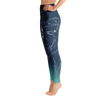 Wintry Dusk Wolf High Waist Yoga Pants - Flower of Living