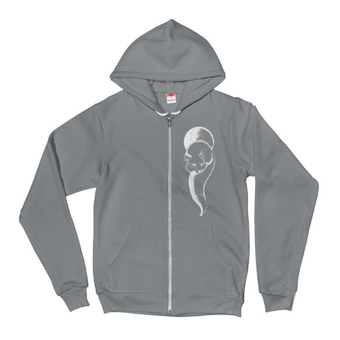 Fox Spirit Animal Hoodie-Flower of Living