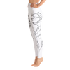 White Wolf High Waist Yoga Pants - Flower of Living