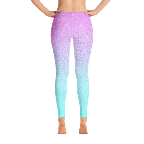 Berry Confetti Yoga Pants-Flower of Living