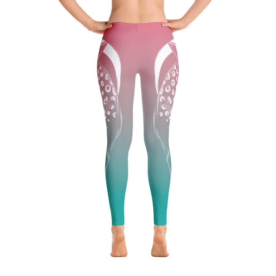 Morning Dew Deer Yoga Pants - Flower of Living