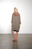 Hi-Lo Gauze Pocket Dress