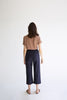 Slash Pocket Crop Pant