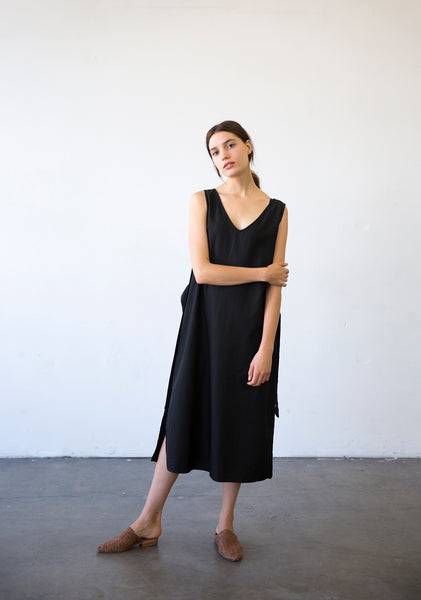 Reversible Side Slit Dress
