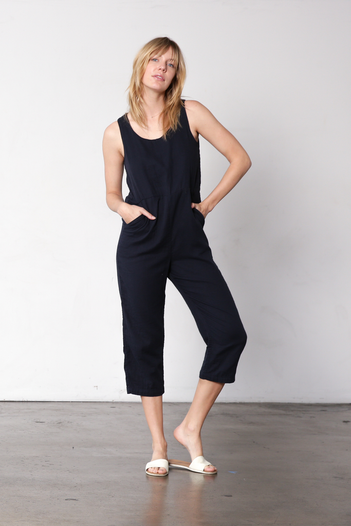 Japanese Double Gauze Jumpsuit