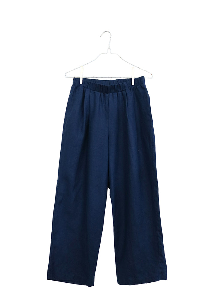 Wide Pull On Pant