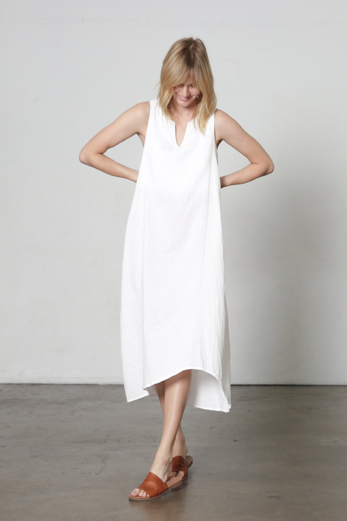 4-Way Gauze Dress w/ Belt
