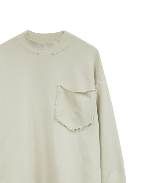 Mockneck Sweatshirt With Pocket