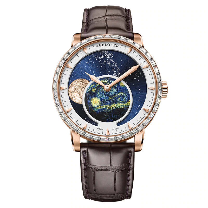 Moon Phase - Crystal - Belairprince.com Tomorrow Watches & Apparel