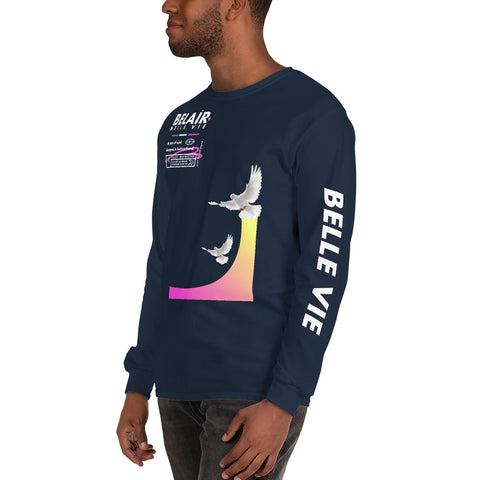 """Belle Vie"" Long Sleeve Shirt - belairprince.com tomorrow streatwear - unisex hoodies joggers tshirts vest jackets tops bottoms & accessories"