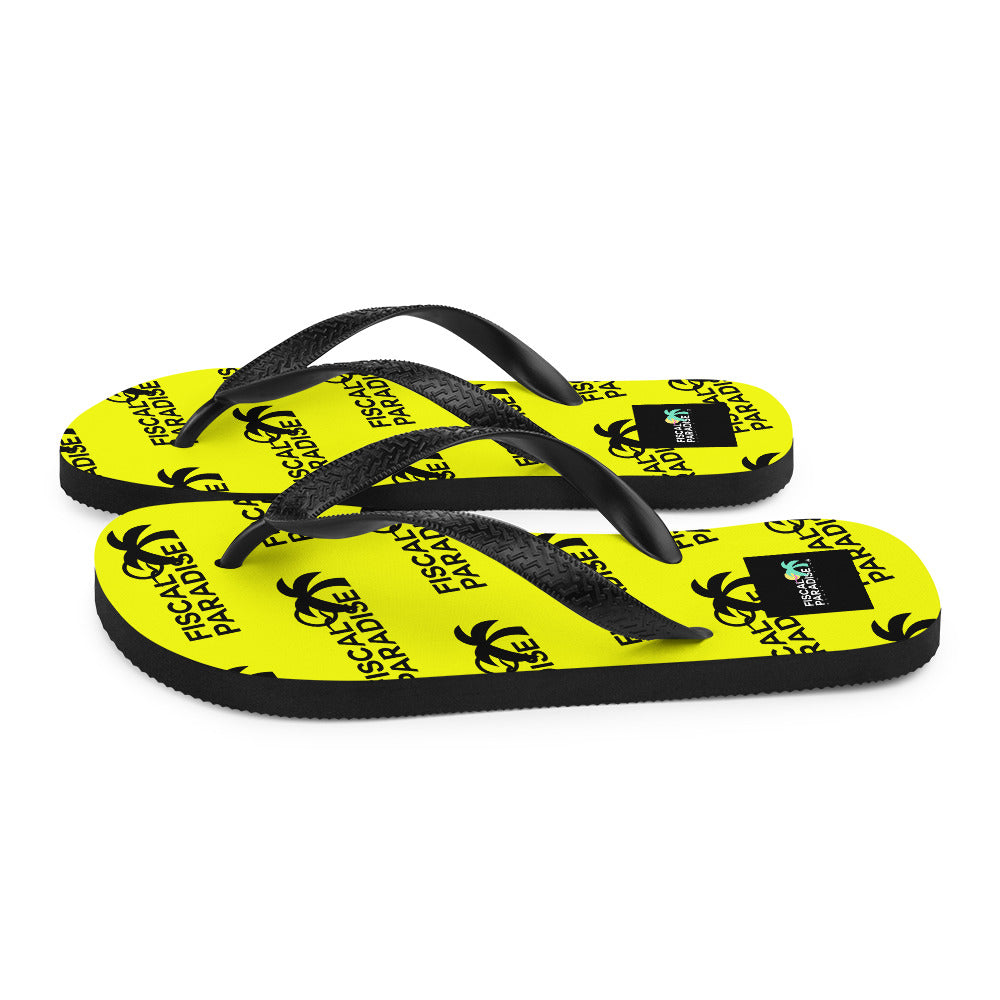 Drip Flip-Flops - Lime - Belairprince.com Tomorrow Watches & Apparel