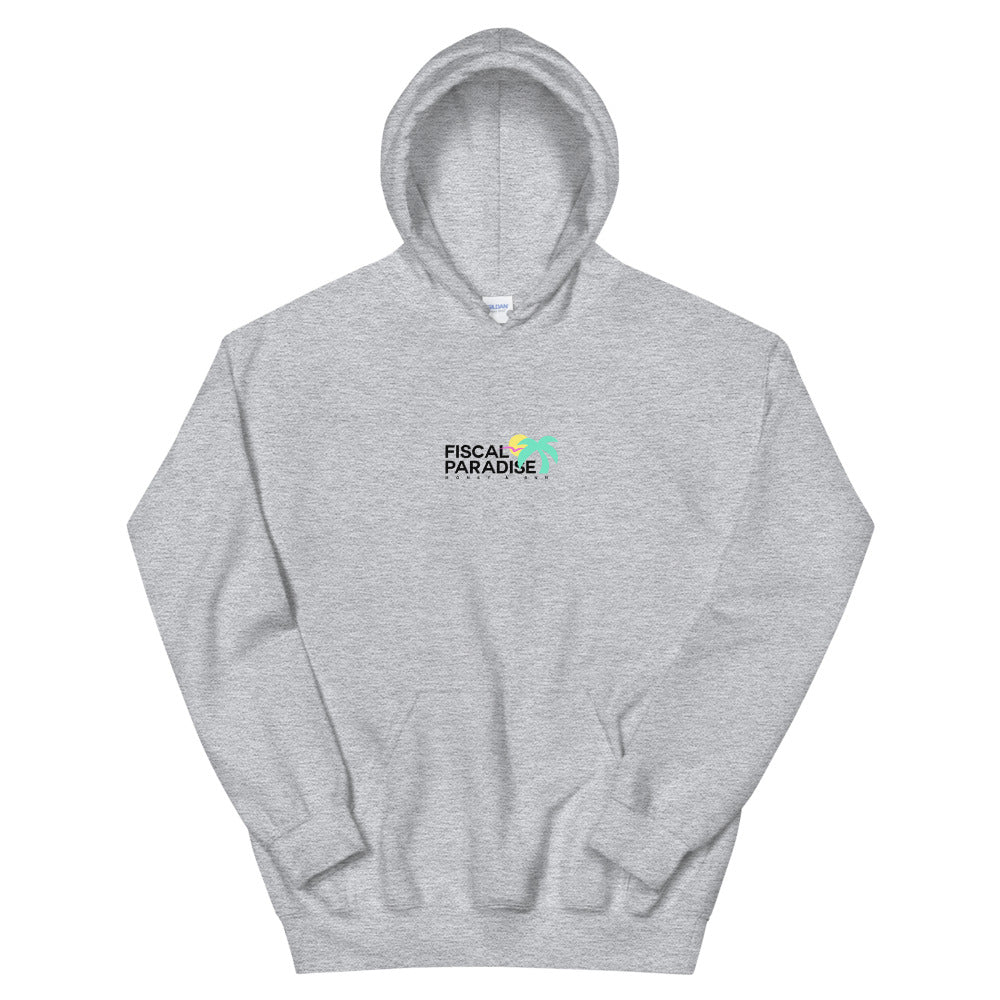 Original Hoodie - Pink / Gray - Belairprince.com Tomorrow Watches & Apparel