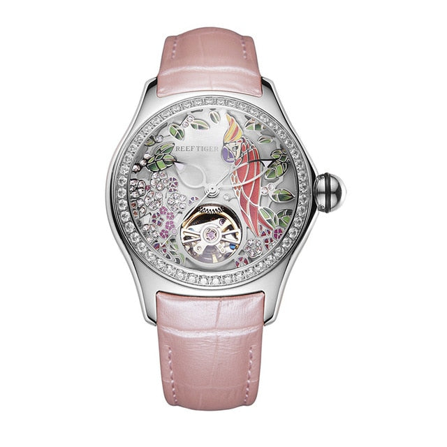 Diamond Parrot - Belairprince.com Tomorrow Swiss Watches