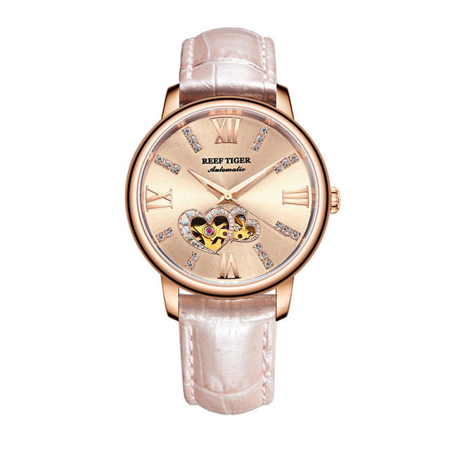 Double Heart - Belairprince.com Tomorrow Swiss Watches