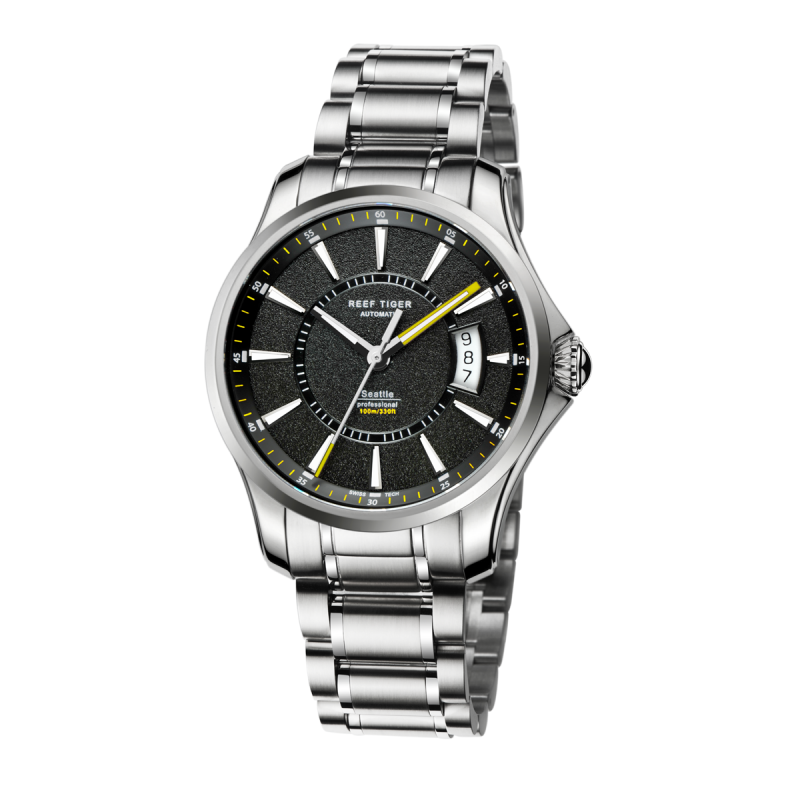 Space Needle - Steel strap - Belairprince.com Tomorrow Swiss Watches