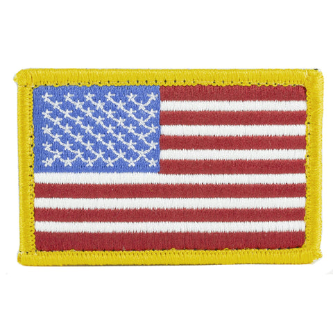 Bh Patch American Flag W-h&l R-w-b
