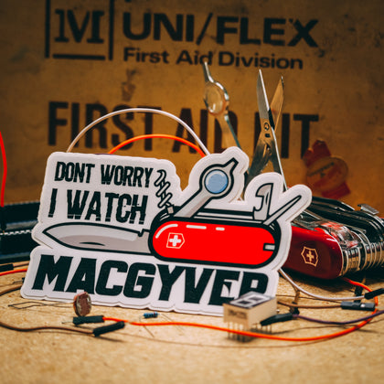 MacGyver sticker