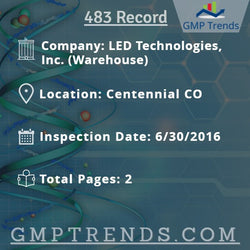 LED Technologies, Inc. (Warehouse)