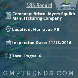 Bristol-Myers Squibb Manufacturing Company