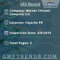 Warner Chilcott Company LLC