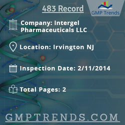 Intergel Pharmaceuticals LLC