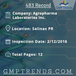 Agropharma Laboratories Inc.