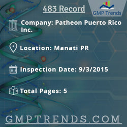 Patheon Puerto Rico Inc.