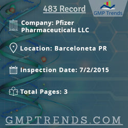 Pfizer Pharmaceuticals LLC
