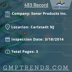 Sonar Products Inc.