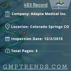 Adapta Medical Inc.