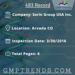 Sorin Group USA Inc.