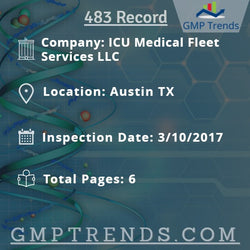 ICU Medical Fleet Services LLC