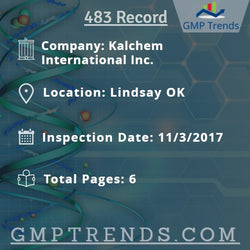 Kalchem International Inc.