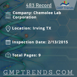 Chemolee Lab Corporation