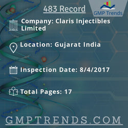 Claris Injectibles Limited